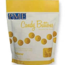 PME CB009 Candy Buttons Yellow 340 gr.