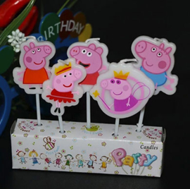 peppa big kaarsjes