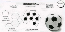 JEM 101CF011 Soccer Ball set of 4