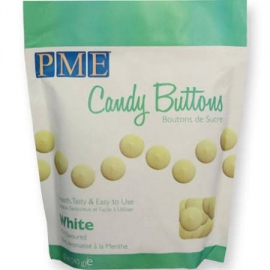 PME CB006 Candy Buttons White Mint 340 gr.