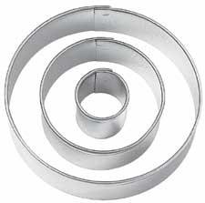 Wilton uitsteker cirkel, set van 3