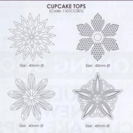 JEM 1101CC001 FANTASY CUPCAKE TOPS #1