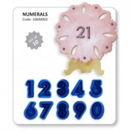 JEM 106M002 Numerals (0-9) set of 10