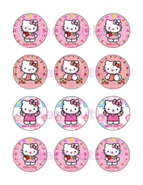 Hello Kitty 7 cupcake