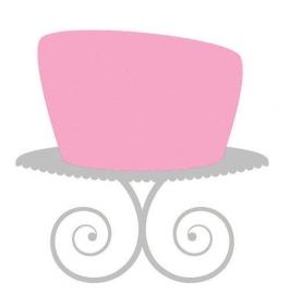 I rolfondant baby roze 250 gram