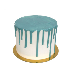 pakket Drip cake blauw
