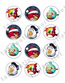 Angry birds cupcake3