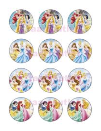 Disney prinsessen cupcake 10