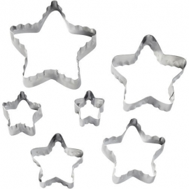 Wilton 417-2584 Star Fondant Double Cut-Outs Set