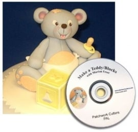 Patchwork Cutter MAKE A TEDDY AND BLOCKS