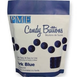 PME CB003 Candy Buttons Dark Blue 340g