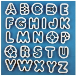 PME AN300 Alphabets Set/26