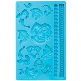 Wilton 409-2562 Baroque Fondant & Gum Paste Mold