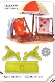JEM 106M019 Deck Chair set/3