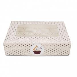 336087 Städter Cupcakedoos voor 12 cupcakes