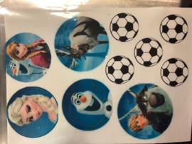 frosting frozen , voetbal