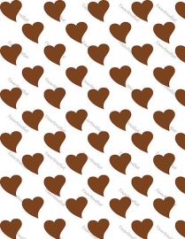 Hartjes bruin