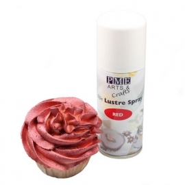 PME LS690 Red Edible Lustre Spray 100ml