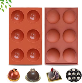 Halve bal/chocoladeballen mold- CC 800