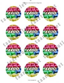Lego cupcake 7