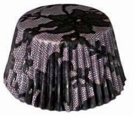 SK BW05B630-02 Elisabeth Black Muffin Cases