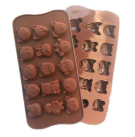 chocolate mold dieren
