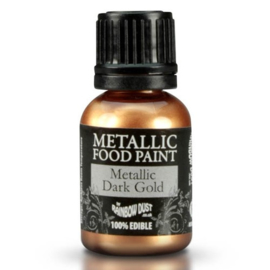 RD metallic dark gold/goudverf 25 ml