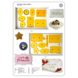 JEM 107P013 Small Plaques set of 18