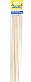 PME DR1008 Wooden Dowel Rods