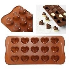 chocolate mold hart 1