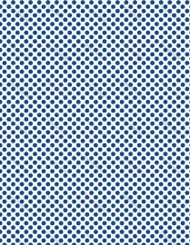 Polkadot blauw