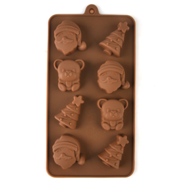 chocolate mold kerst 3