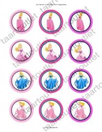 Disney prinsessen cupcake 4