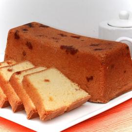 Frisse fruitcake met witte chocolade