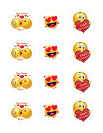 Liefde/Valentijn cupcake 3
