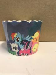 Baking cups My little Pony-( 12 stuks)