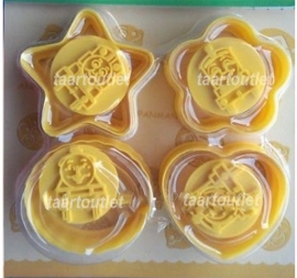 I Thomas de trein Cookie/Fondant Cutter-stempel set