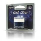 RD edible glitter navy blue