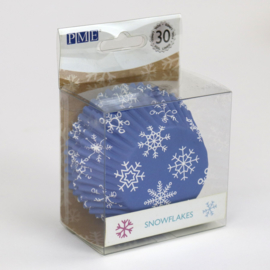 PME BC827 sneeuwvlok metallic cupcake cases