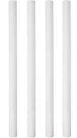 PME 31,5 cm plastic hollow pillars 10 stuks