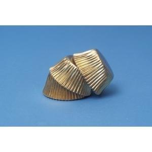 PME BC717 Gold Mini Standard Baking Cups 45stuks