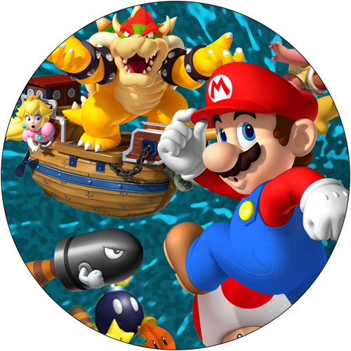Super Mario cirkel 1