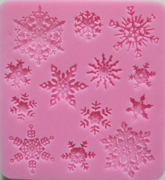 CV17- Sneeuwvlok mold