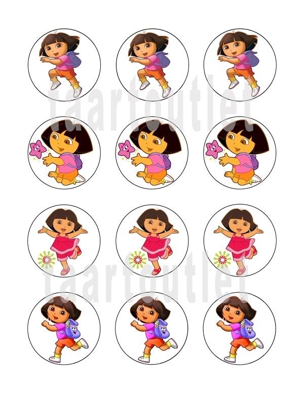 Dora 4 cupcake