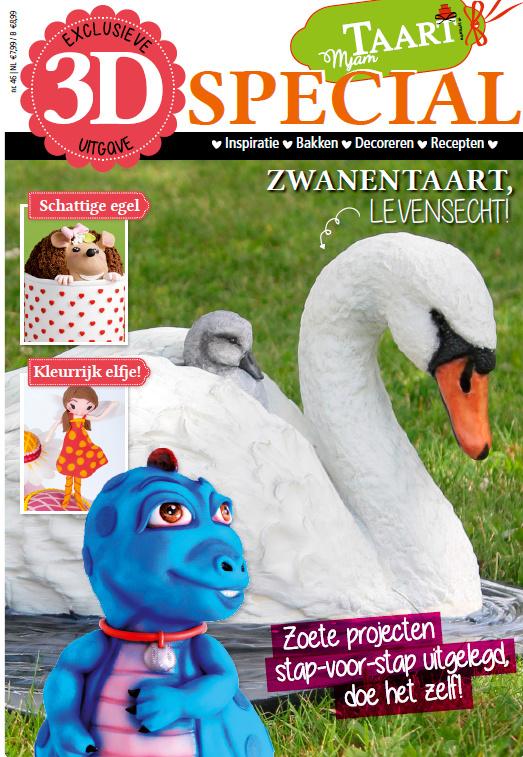 Mjam Taart 3D special