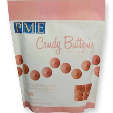 PME CB007  Candy Buttons Pink 340 gr.