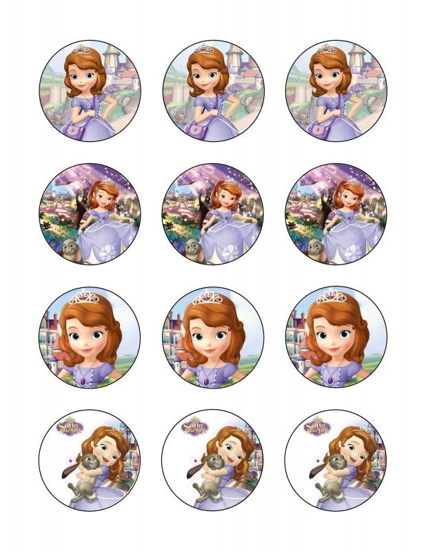 prinses Sofia cupcake 2