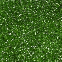 RD edible glitter holly green