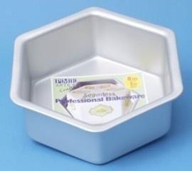 PME HEX083 Deep Hexagon Cake Pan 20 x 7,5cm