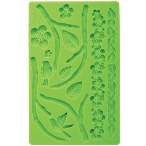 Wilton 409-2565 Nature fondant & Gum paste mold